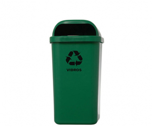 Coletor de Lixo Papeleira 50L